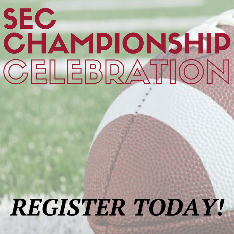 Alabama is Atlanta bound for the SEC Championship game. Join Bama in Atlanta on Friday, December 2nd for a celebration. Register today!